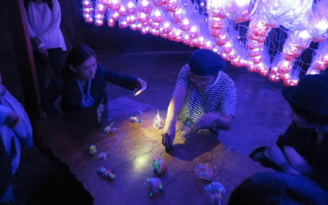 10月17日(土)・18日(日)開催《ワークショップ》\お子様に大好評!/「身近なものを使ってオリジナル生物を作って展示しよう!」が今年もやって来ます♪